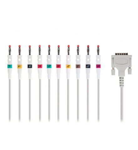 Reusable ECG cable (12 leads) Part number:4009 Image